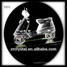 Modèle de trafic de cristal délicat E044