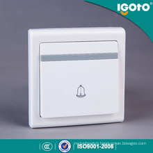 Igoto UK Type Electric Smart Home Door Bell Wall Switch