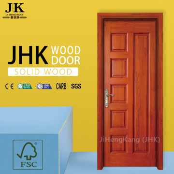 JHK-Cap Carved Wood Panel Pattern Teak Wood Craft Door