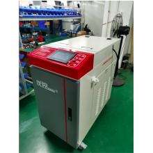 Máquina portátil de solda a laser de fibra óptica
