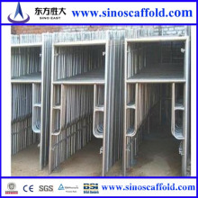 Types of Steel Painted Frame Scaffolding