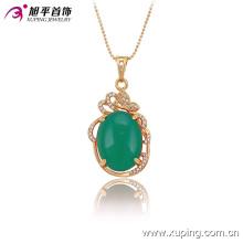 32527 Xuping оптом фабрика моды роскошные ювелирные изделия 18k позолоченный ожерелье для женщин
