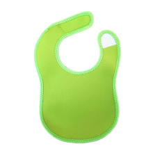 Customized Patterned Neoprene Baby Bib in wholesale
