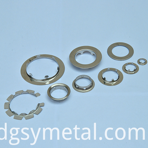 lighting metal parts