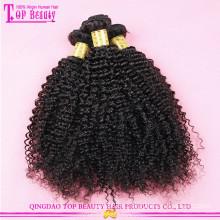 Unverarbeitetes menschliches afro verworrenes gelocktes Haar des lockigen Haares Afrohaares lockiges Haar des Afroamerikaners