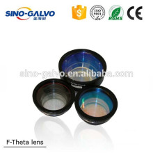 Fiber scan lens for galvanometer scanner