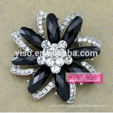 new fashion jewelry cutie crystal flower brooch for little girls