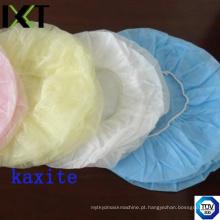 Fornecedor Bouffant Cap descartável feito para o médico enfermeira e indústria alimentar Kxt-Bc09