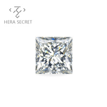 ForeverFlame  G H Princess Cut diamond CVD CZ Moissanite