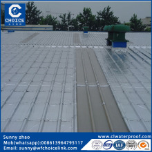 Construction aluminum faced self adhesive waterproofing membrane