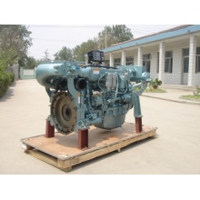 new 6 cylinders sinotruk wd615 marine engine