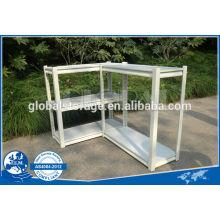 Leichte Kapazität von Niet-Regalen für Büro verwendet / pulverbeschichtet von weißen & schwarzen Regalen / Teardrop Loch Büroregalen