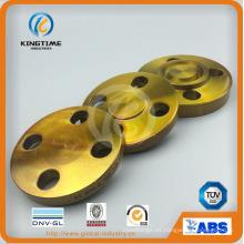 Reborde forjado ciego del acero de carbono de ANSI DIN Flange (KT0397)