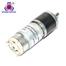 Motor de 24 v cc baja velocidad rpm 500rpm encoder gear motor