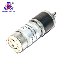 24v dc motor low rpm 500rpm encoder gear motor