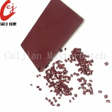 Dark Red Masterbatch Granules