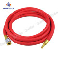 1 smooth red compressed air hose air compressor