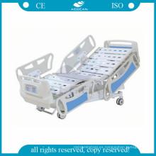 AG-BY008 cama de hospital electrónica de altura variable 10 bedbaords icu
