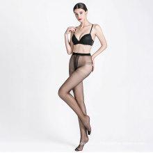 Wholesales high elastic ultra sheer pantyhose T shape silk stockings women