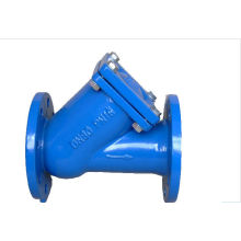 Ductile Iron Flanged Ends Globe Check Valve 1.0mpa For Water