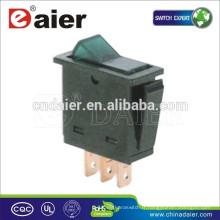 Interrupteur automatique Daier ASW-25D, ON-OFF SPST 3P Interrupteur à bascule automobile @