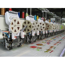 612 Computerized flat / sequin Embroidery Machine ZHAO SHAN best price