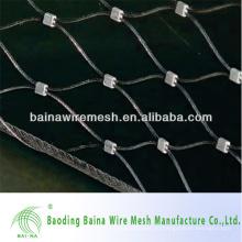 Алюминиевые обжимные ферросплавы Нержавеющая сталь Материалы Веревочная сетка