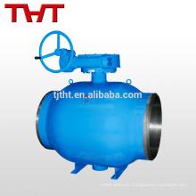 válvula de bola del muñón de la soldadura a tope / válvula especial de la calefacción