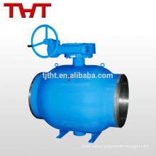 butt welding trunnion ball valve / heating special valve