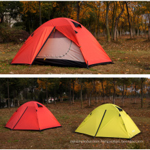 Wholesale 2 Person Tent, Double Layer Fiberglass Pole Tent