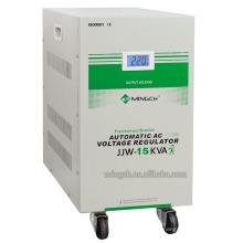 Regulador / estabilizador de voltaje purificado preciso de la serie de la sola fase de Jjw-15k