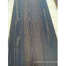 Exquisite Smoked Parquet Elm Engineered Wood Flooring