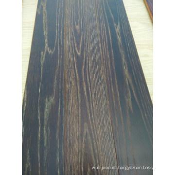 Exquisite Smoked Parquet Elm Engineered Wood Flooring