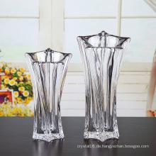 Kristallglasvase für Heimtextilien (Ks80924)