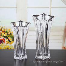Florero de cristal para decoración del hogar (Ks80924)