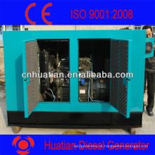 Gerador Diesel Silencioso Set-100kw / kva-R6105AZLD Motor Diesel Com Stamford Brushless Alternador-Canopy Soundproof