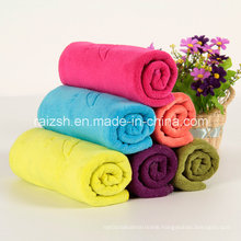 Brushed Microfiber Absorption Towel for Beauty Salon