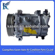 Hight calidad 12v pv6 peugeot 307 aire acondicionado compresor