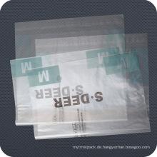 Wiederverschließbare Plastikreißverschlusstasche für Kleider