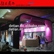 China Detian Wooden large image Customize Professional Design Cosmetic Display Booth Customize Professional Design booth
