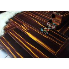 Plancher de stratifié résistant à l'eau de cerise de miroir du ménage 12.3mm