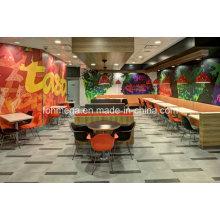 Cadeiras modernas da tabela do restaurante da pizza para a venda (FOH-FFR2)