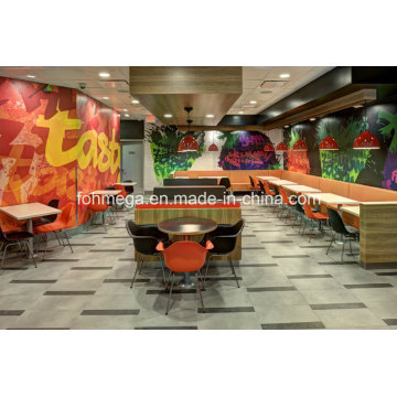 Modern Cool Pizza Restaurant Table Chairs for Sale (FOH-FFR2)