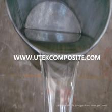 Résine de polyester insaturé pour les articles sanitaires en marbre artificiel