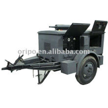 fireproof and waterproof trailer power generator with yangdong diesel engine