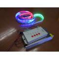 5m 60LEDs / M digital Lpd8806 RGB tira de LED no impermeable PCB individualmente