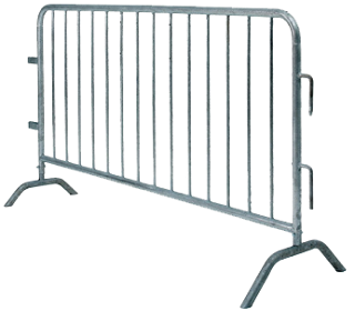 Crowd Control Barrier Mesh