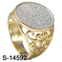 Мода Ювелирные изделия стерлингового серебра 925 пробы для мужчин Позолота (S-14592)