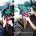 108mm 85W Puisseur à faible bruit Puissance à chaîne Broyeur à chaîne Outils de meulage Machine Grinder à scie à chaîne électrique GW8099