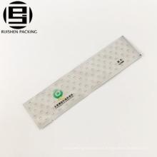 Bolsa de empaquetado de plástico desechable impresa aduana del cepillo de dientes del huésped del hotel de lujo
